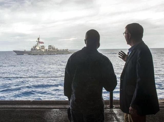 South China Sea,US,USS Theodore Roosevelt