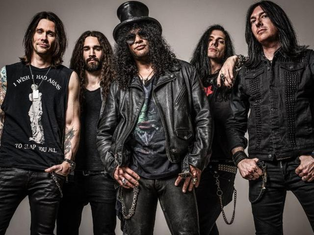 Slash featuring Myles Kennedy and The Conspirators will be headlining the rock music and adventure sports festival where they will also promote their new album World on Fire.