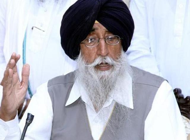 Former MP Simranjit Singh Mann of the Shiromani Akali Dal .