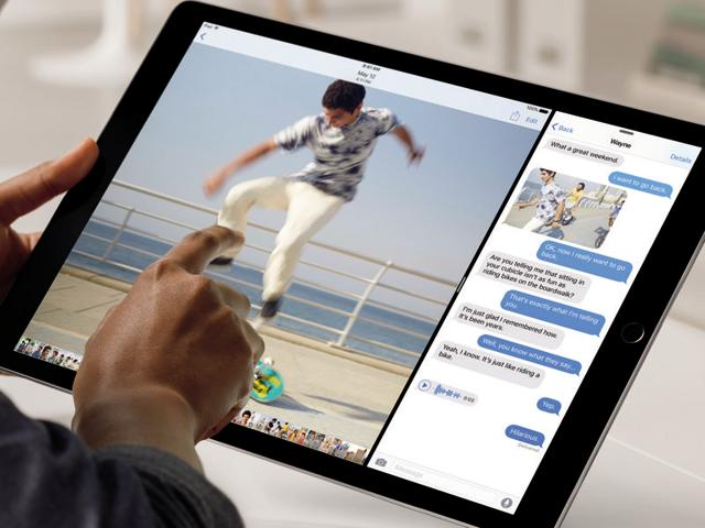 The iPad Pro will be the biggest tablet on the market with a 12.9 inch screen.