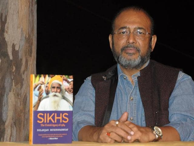 Narendra Modi,Sikh,Nilanjan Mukhopadhyay