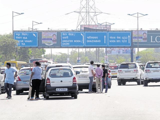 The DND Flyway has seen a number of protests by residents' groups recently over the issue payment of toll.
