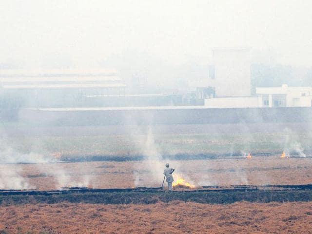 Stubble burning,farmers,pollution