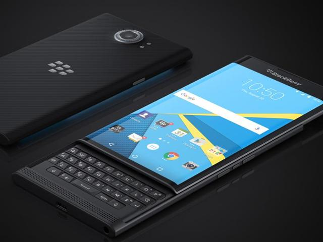 BlackBerry is hoping its sleek design and touch-sensitive keys that allows users to swipe, scroll and set up shortcuts will woo former loyalists back to using the Priv.