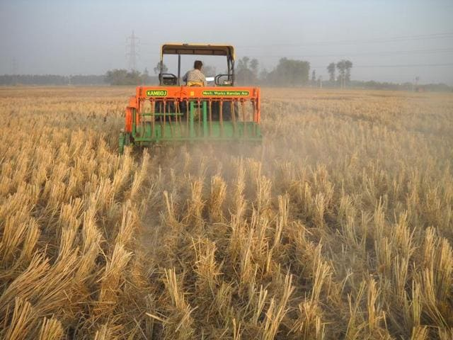 Stubble burning,smog,pollution
