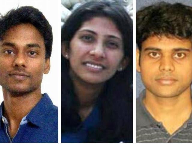 (From L-R): Abhishek Gaurav, Leena Aggarwal, Goutam Sheet.