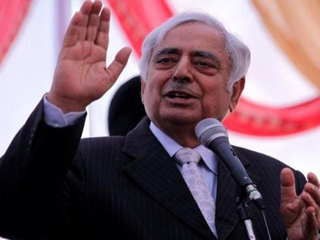 Mufti Mohammad Sayeed,Jammu and Kashmir,Chief minister
