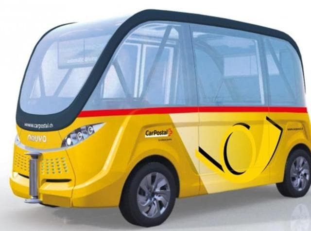 Driverless automatic buses,Automatic buses Switzerland,Autonomous vehicles