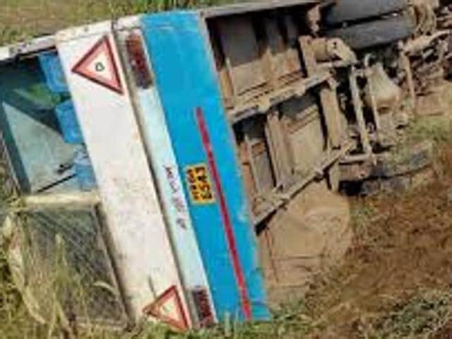 The ill-fated bus was on its way from Shimla to Delhi.