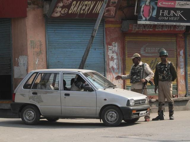 Authorities, apprehending more law and order problems today, imposed restrictions on the movement of people in seven police station areas.