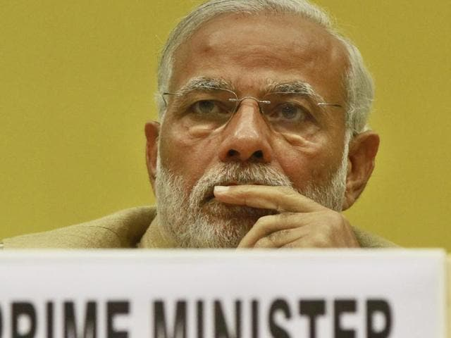 Prime Minister Narendra Modi at the Delhi Economics Conclave 2015, in New Delhi on November 6, 2015.  The results of Bihar assembly polls are being viewed in the international media largely in their implications for Modi.