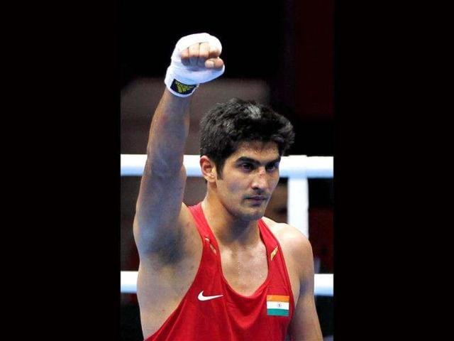 Vijender Singh,Professional Boxing,Dean Gillen