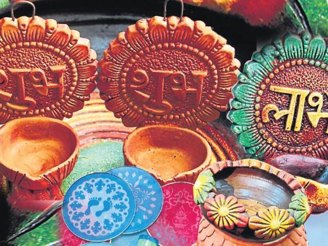 In stark contrast to artificial and foreign-made articles are the earthen lamps that have been essential elements of Diwali celebrations since long.
