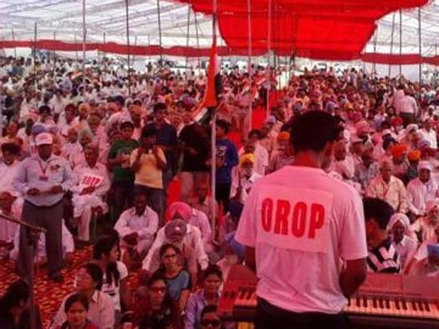 OROP,Better OROP deal demanded,Veterans