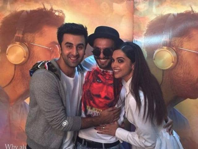I have great chemistry with both Ranveer and Ranbir: Deepika