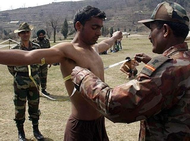 Army recruitment,Online recruitment,Defence Service Welfare Punjab
