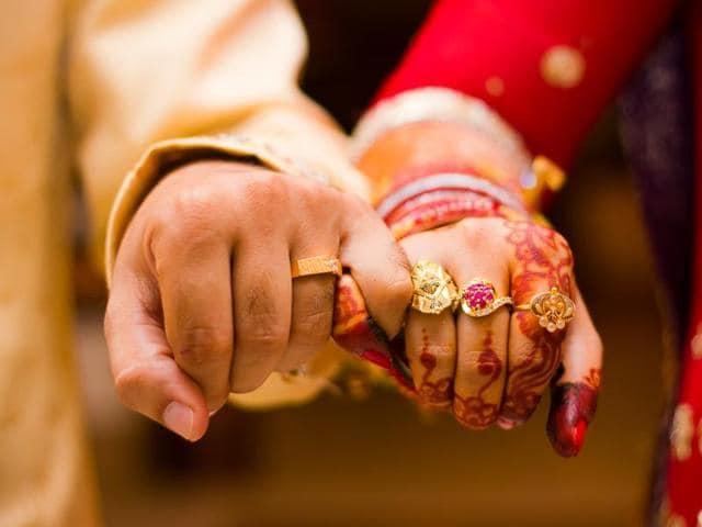 Representative photo of a Hindu marriage.
