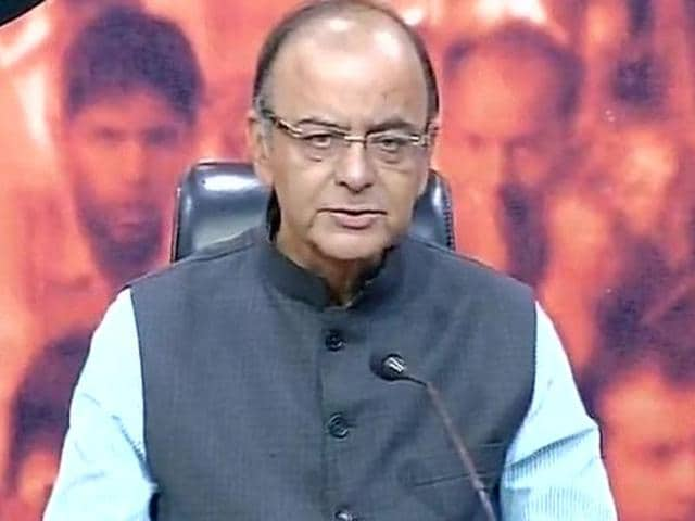 Union finance minister Arun Jaitley addressed the media on November 9, 2015 , following the meeting of the BJP's parliamentary board. The meeting was convened to discuss the results of  Bihar assembly polls.