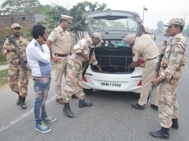 Punjab,Security beefed up,Sarbat Khalsa