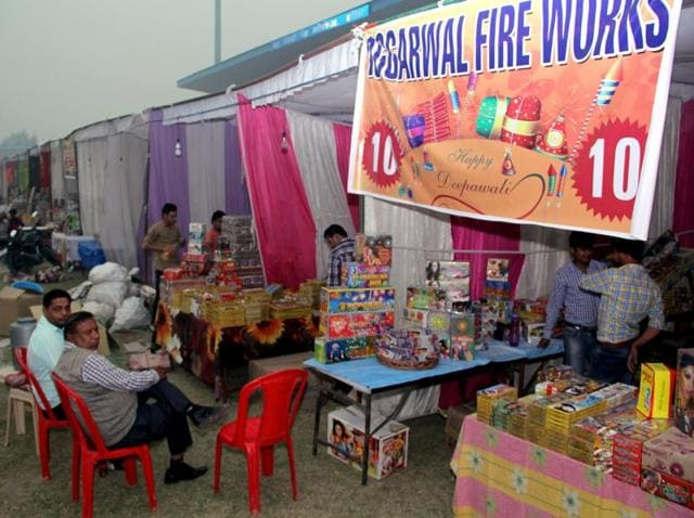 Firecracker sellers in Talwandi Sabo, Goniana, Rama Mandi, Rampura and other nearby towns have been feeling the pinch.