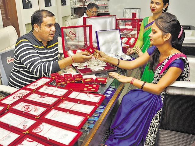 Jewellers say more customers are buying gold ornaments this year, compared to the last few years.