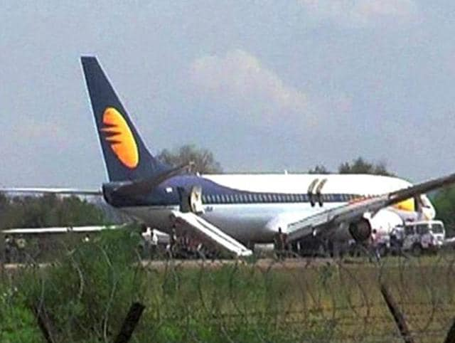 File photo of a Jet Airways plane.