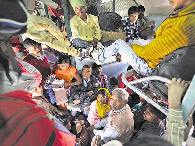 Migrants from the eastern state played a decisive role in the stupendous victory of the AAP in Delhi.