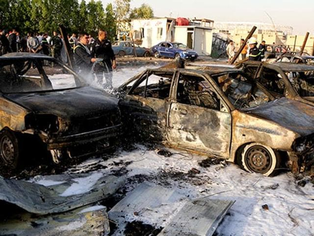 Baghdad attacks,10 killed in Baghdad,Iraq attacks