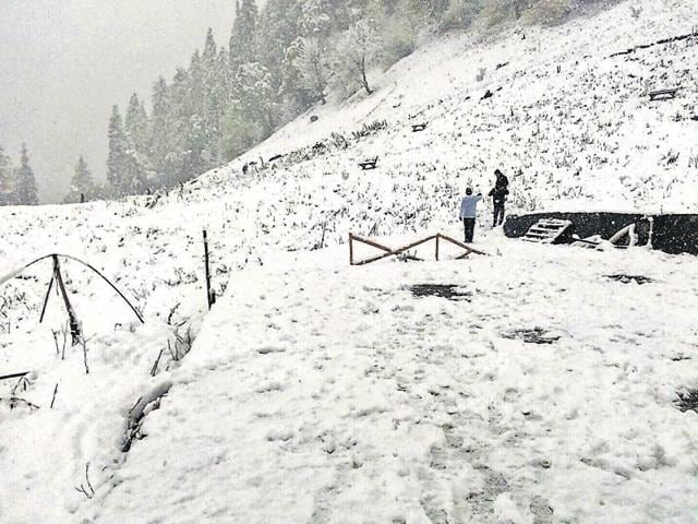 Chilly Diwali,Snowfall in Himachal,Himachal Pradesh