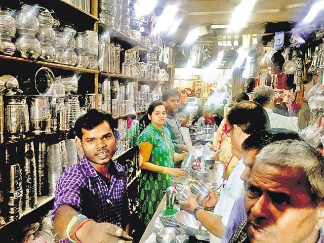 Dhanteras,Gurgaon,gold buying