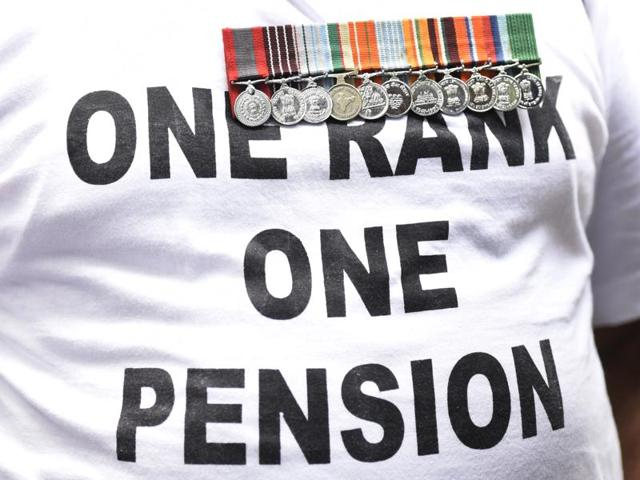 The government had on Saturday notified the OROP scheme for the over 24 lakh ex-servicemen and six lakh war widows in the country.