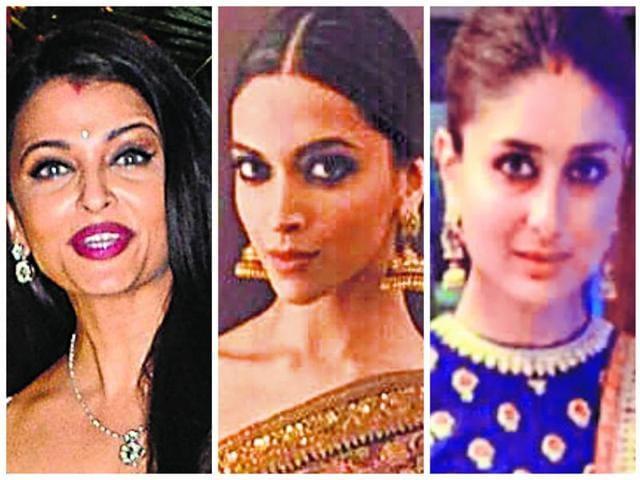 Aishwarya, Deepika, Kareena and Katrina. Who wore it best?