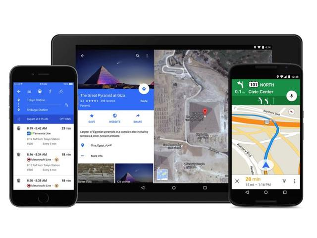 Google Maps can now provide turn-by-turn directions in offline mode.