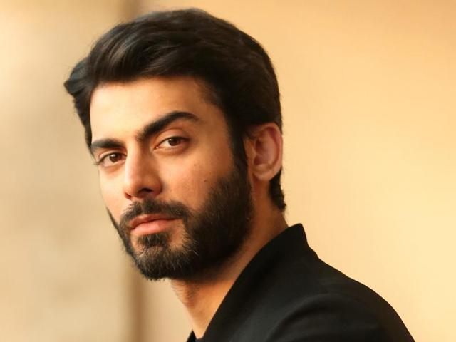 Pakistani actor Fawad Khan poses for the shutterbugs.