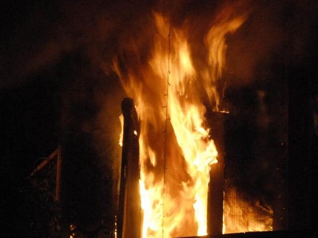 Diwali night,Fire incidents,Property destroyed