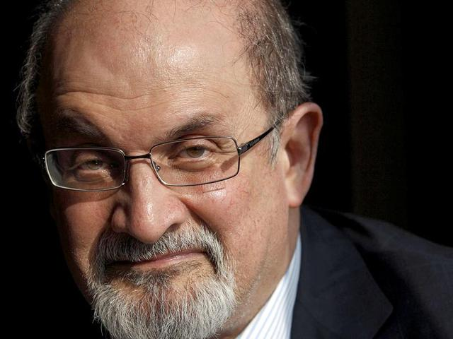 File photo of author Salman Rushdie.  He is among the 200 writers who've urged British PM David Cameron to raise the issue of intolerance with Indian PM Modi during the latter's visit to the UK.