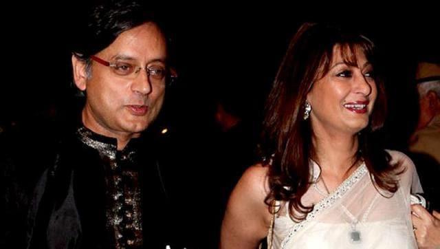 Shashi Tharoor,Sunanda Pushkar