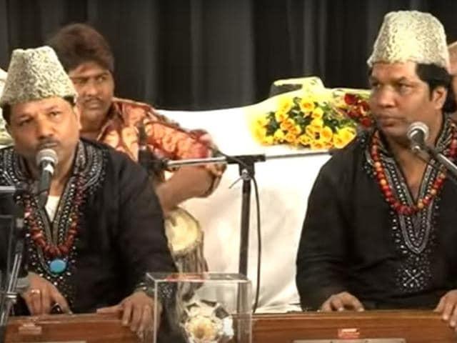 Sufi qawwali group Nizami Brothers will perform alongside Pakistani singers on November 14 in New Delhi.