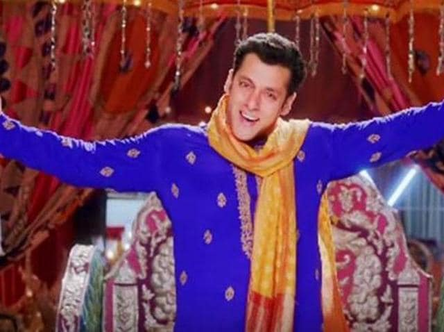 Salman Khan in PRDP.