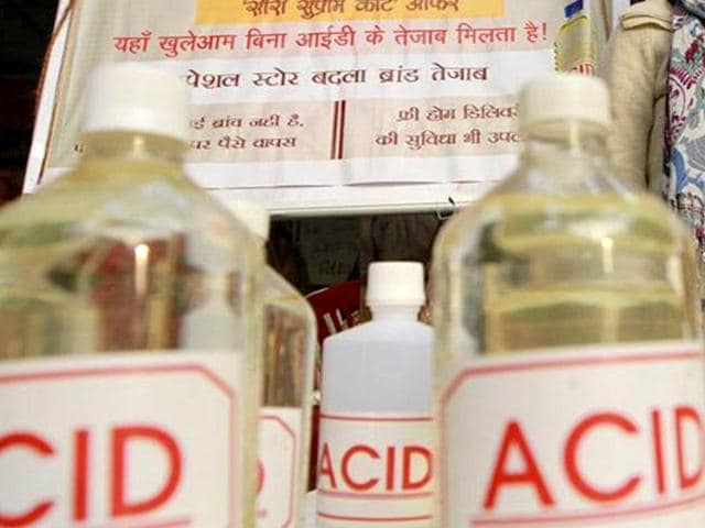 acid attacks