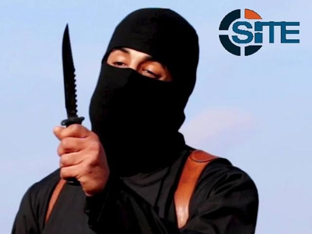 This still image from undated video released by Islamic State militants on October 3, 2014, purports to show the militant known as Jihadi John.