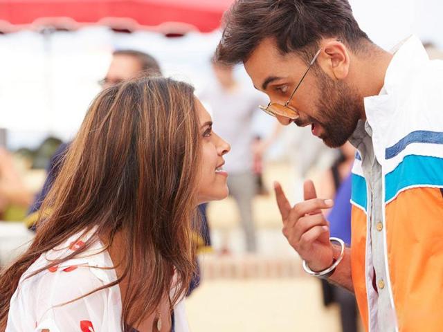 Deepika Padukone and Ranbir Kapoor in a still from Tamasha.