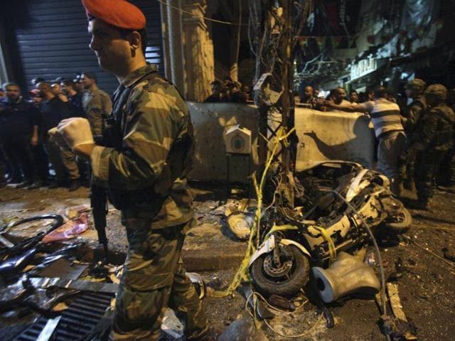 Beirut,Twin blasts,Hezbollah