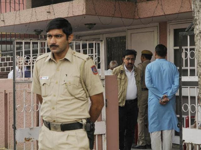 Elderly couple murdered,East of Kailash,Delhi