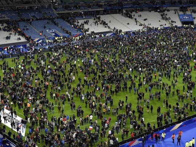 Paris attack,French Football Federation,Stade de France