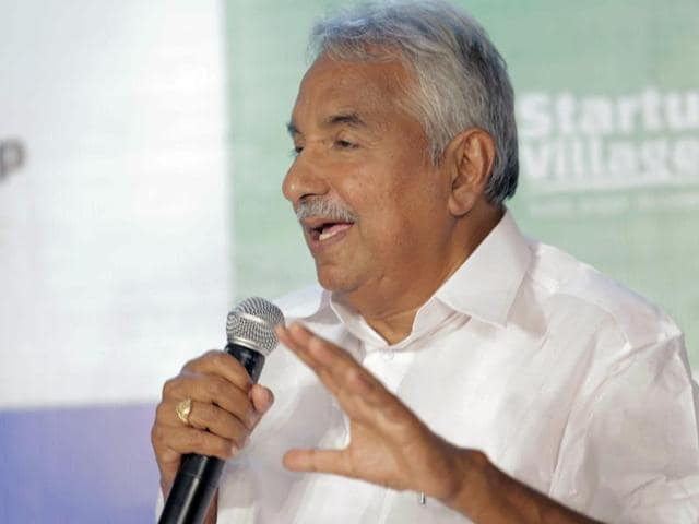 File photo of Kerala chief minister Oommen Chandy.
