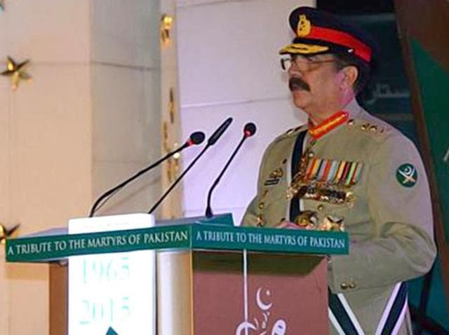 Analysts said Raheel Sharif's influence over both issues makes him, rather than the civilian leadership, the dominant broker for Washington's regional agenda. (Photo courtesy: ISPR's official website)