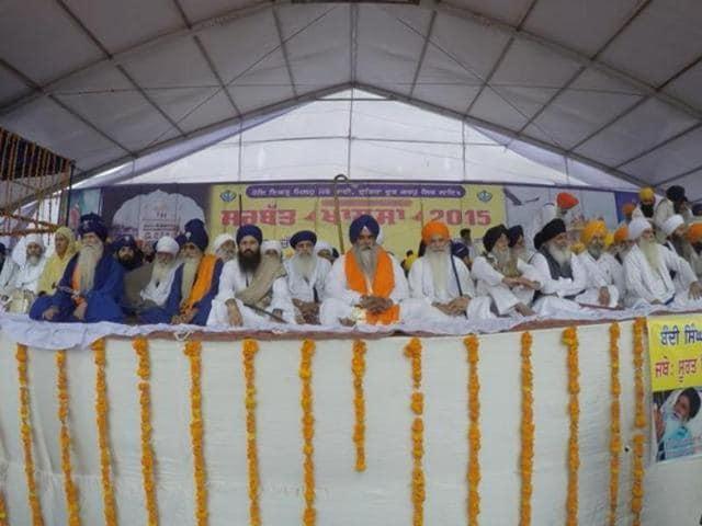 Sarbat Khalsa,sedition cases,Sikh leaders
