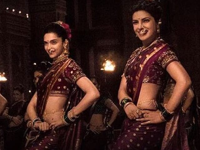 Deepika Padukone and Priyanka Chopra dance off in Bajirao Mastani's new song, Pinga.