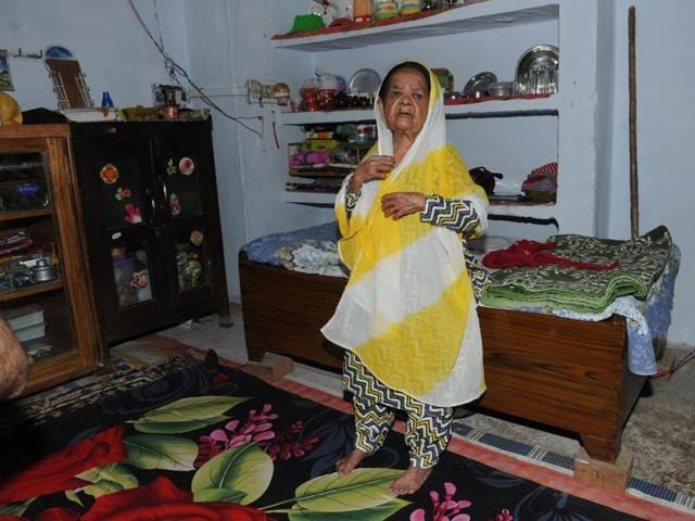 Three-foot-tall Zeenat Bi has been living with a well-wisher Mohammad Abrar, for the past two decades in a congested by-lane in the Jehangirabad locality of Bhopal.